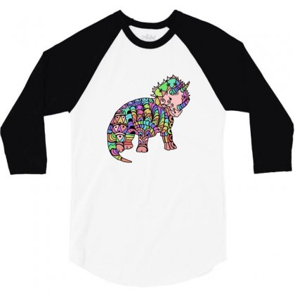 Halloween 3/4 Sleeve Shirt Designed By Defit45