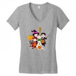 halloween Women's V-Neck T-Shirt | Artistshot