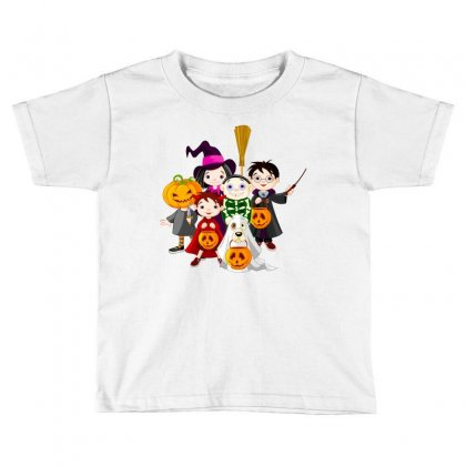 Halloween Toddler T-shirt Designed By Defit45