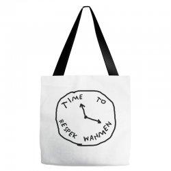 Time To Respek Wahmen Tote Bags | Artistshot