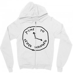 Time To Respek Wahmen Zipper Hoodie | Artistshot