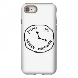 Time To Respek Wahmen iPhone 8 Case | Artistshot