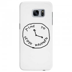Time To Respek Wahmen Samsung Galaxy S7 Edge Case | Artistshot