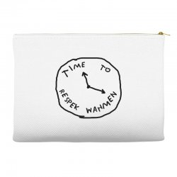 Time To Respek Wahmen Accessory Pouches | Artistshot