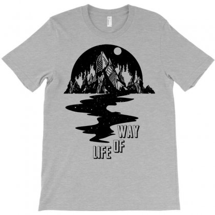 Way Of Life T-shirt Designed By Designbysebastian
