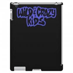 wild & crazy kids iPad 3 and 4 Case | Artistshot