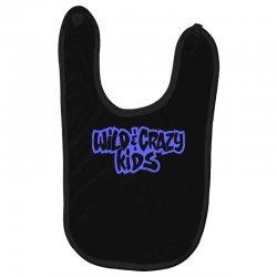 wild & crazy kids Baby Bibs | Artistshot