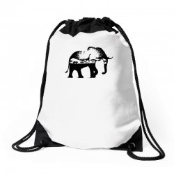 wild africa Drawstring Bags | Artistshot