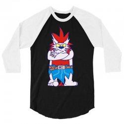 wild aztec monster 3/4 Sleeve Shirt   Artistshot