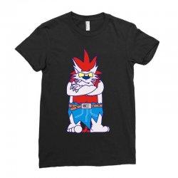 wild aztec monster Ladies Fitted T-Shirt   Artistshot