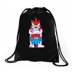 wild aztec monster Drawstring Bags   Artistshot