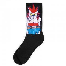 wild aztec monster Socks   Artistshot