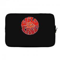 wild and free Laptop sleeve | Artistshot