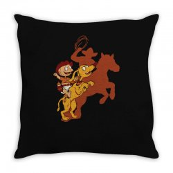 wild bill pickles Throw Pillow | Artistshot