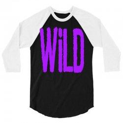 wild 3/4 Sleeve Shirt   Artistshot