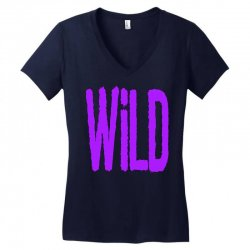 wild Women's V-Neck T-Shirt   Artistshot