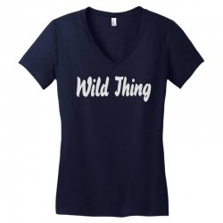 wild thing Women's V-Neck T-Shirt | Artistshot
