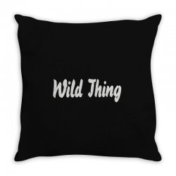wild thing Throw Pillow | Artistshot