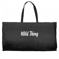 wild thing Weekender Totes | Artistshot
