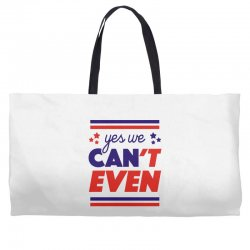 yes we can't even Weekender Totes | Artistshot