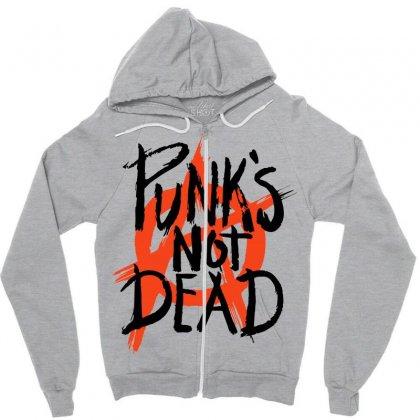 Punks Not Dead Zipper Hoodie
