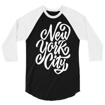 New York City W 3/4 Sleeve Shirt Designed By Sbm052017