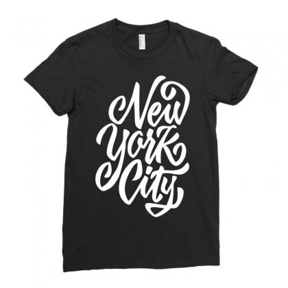 New York City W Ladies Fitted T-shirt Designed By Sbm052017