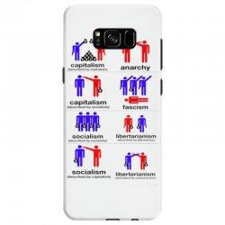 how politics work Samsung Galaxy S8 Case   Artistshot
