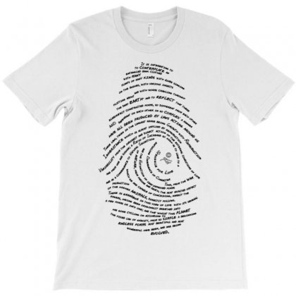 Darwin's Fingerprint T-shirt Designed By Artrend-paul
