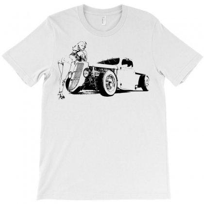 Hot Rod T-shirt Designed By Sbm052017