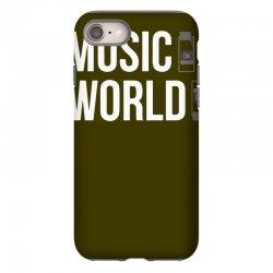 music on world off iPhone 8 Case   Artistshot