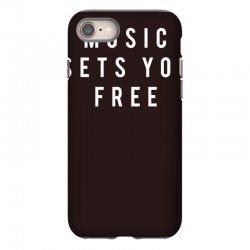 music sets you free iPhone 8 Case | Artistshot