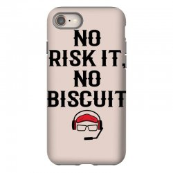 no risk it, no biscuit iPhone 8 Case | Artistshot