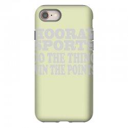 hooray sports win points iPhone 8 Case | Artistshot
