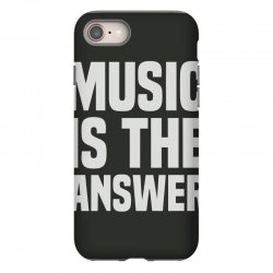 music is the answer iPhone 8 Case | Artistshot