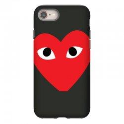 Comme Des Garcons Play iPhone 8 Case   Artistshot