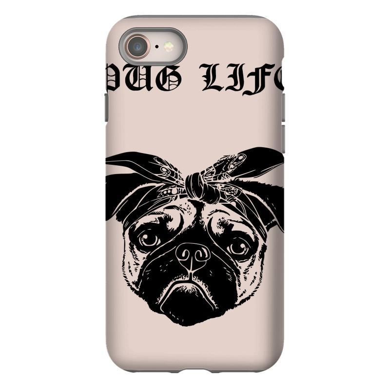 55c0b4e7 Custom Pug Life Iphone 8 Case By Sbm052017 - Artistshot
