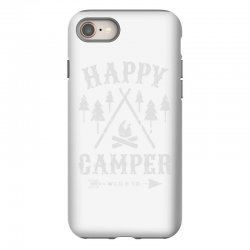 happy camping iPhone 8 Case | Artistshot