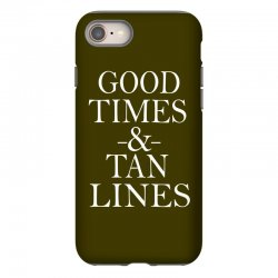 good times and tan lines iPhone 8 Case | Artistshot