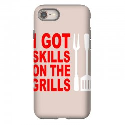 got skills on the grills apron iPhone 8 Case | Artistshot