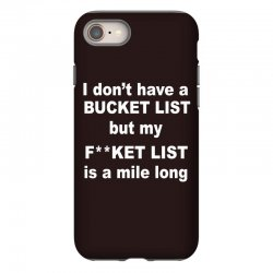 fucket list iPhone 8 Case | Artistshot