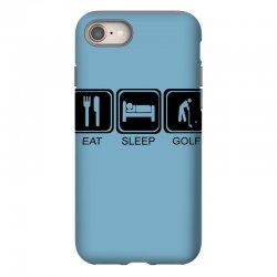 eat,sleep,golf iPhone 8 Case | Artistshot