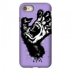 screaming hand werewolf iPhone 8 Case | Artistshot