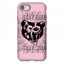 Stay Free Stay Wild iPhone 8 Case | Artistshot