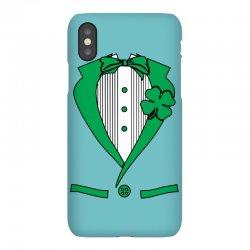 irish-suit iPhoneX Case   Artistshot