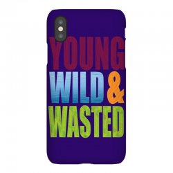 young wild wasted iPhoneX Case | Artistshot