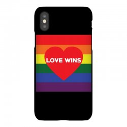 Love Wins iPhoneX Case | Artistshot
