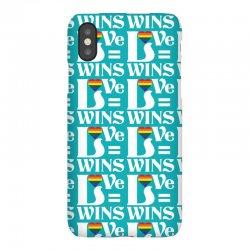 Love Wins iPhoneX Case | Artistshot
