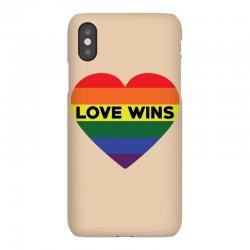 Love Wins iPhoneX Case   Artistshot