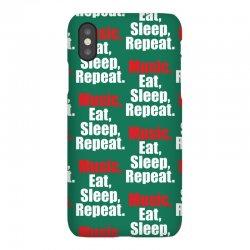 Music Eat Sleep Repeat iPhoneX Case | Artistshot